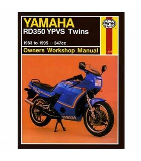 HAYNES REPAIR MANUAL YAMAHA RD350 YPVS 83-95 ENGLISH