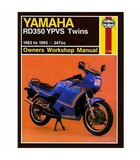 MANUAL DE REPARACIÓN YAMAHA RD350 YPVS 83-95 INGLES