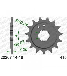 FRONT SPROCKET HONDA RS125 / NSF250 415 AFAM