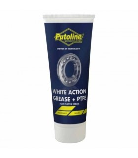 PUTOLINE WHITE ACTION GREASE + PTFE. 100 GR