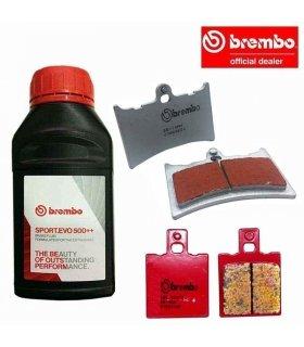BREMBO PACK APRILIA RS125 (94-05) SINTERIZADAS COMPETICION