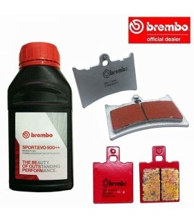 BREMBO BRAKING SET APRILIA RS125 (94-05) SINTERED RACING