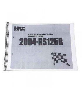 Workshop Manual Honda RS125 2004