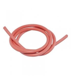 SILICONE HT LEAD 7MM 1 METRE RED