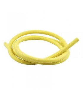 SILICONE HT LEAD 7MM 1 METRE YELLOW