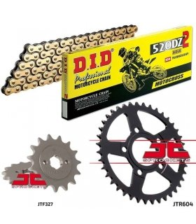 Chain And Sprocket Kit HONDA CRM 125 DID 520DZ2 GOLD