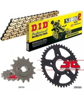 Chain And Sprocket Kit CAGIVA MITO 125 DID 520DZ2 GOLD