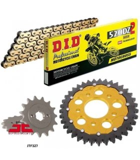 Chain And Sprocket Kit HONDA NSR125 (88-03) ZFSPROCKETS DID 520DZ2 GOLD