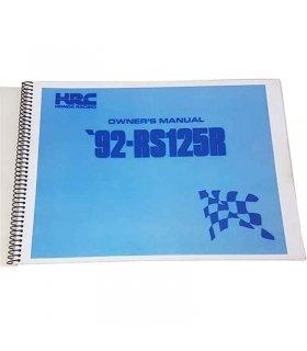 Manual Honda RS125 1992 NF4