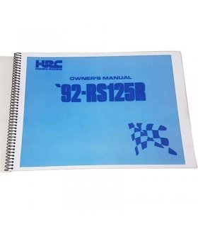 Workshop Manual Honda RS125 1992 NF4