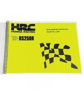Workshop Manual Honda RS250 1992 NF5