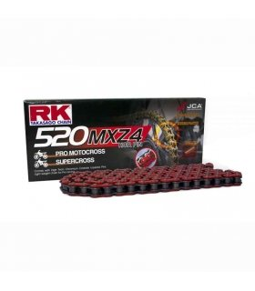 CHAIN RK 520MXZ4 114 LINKS RED