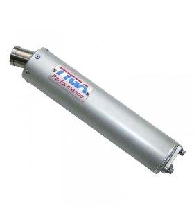 "TYGA Silencer aluminium ""SHORTY"" 2 stroke stainless endcap"