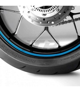 ITR Wheel sticker blue