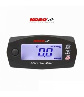 Koso Rev Counter and Engine Hours Meter