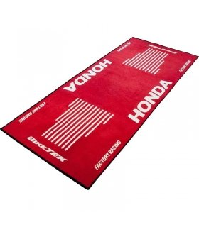 BIKETEK MOTORCYCLE RACE GARAGE MAT HONDA RACING