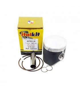 PISTON ITALKIT BIGBORE 57 mm Aprilia RS 125 2 rings for 140cc cilinder