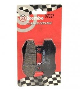 Pastillas de freno delanteras Brembo 07027 Carbon Ceramic