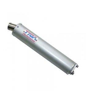 TYGA Silencer aluminium 2 stroke stainless endcap