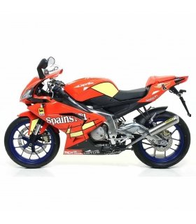 ESCAPE ARROW APRILIA RS125 07-14 MINI THUNDER TITANIO