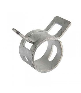 Abrazadera 10 mm acero elastica para sujeccion mangueras