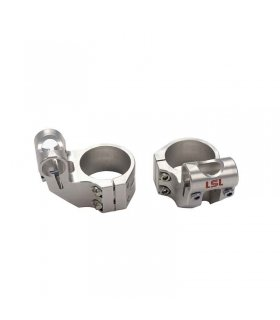 LSL 45 MM OFFSET HIGH FORK CLAMPS CLIP-ON 154OH45