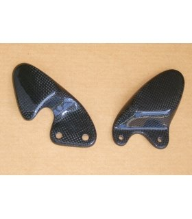 Carbon heel guards, Aprilia RS125