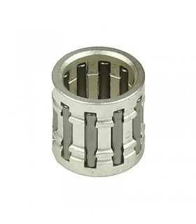 Needle bearing 15x19x17 Silver Plated With Race Type Cage