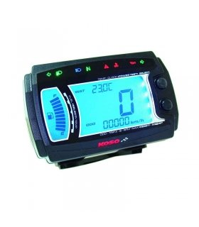 DISPLAY KOSO XR-SRN BB017B60 Rpm, Temp, Cuenta horas, 2T/4T iluminado azul BB017B60