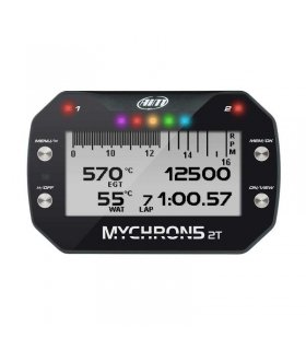 AiM MyChron5 2 Temperaturas, GPS integrado, WiFi, Batería interna