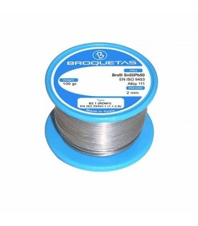 SOLDER ROLL 100G 2MM OR MEASURE SQUISH