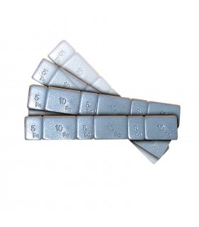 Contrapesos de llanta adhesivos de hierro 3x5gr, 3x10Gr (4uds)