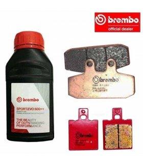 BREMBO PACK HONDA NSR 125 / CRM 125 SINTERIZADAS