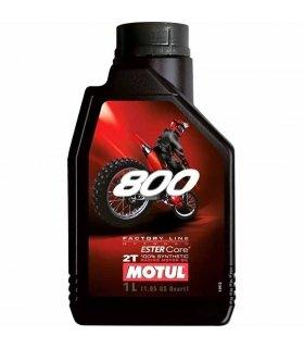 Aceite Motul 800 2T Factory Line Off Road Racing 1L