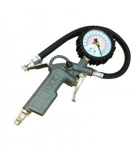 Manómetro analógico para inflar neumáticos 0-220psi