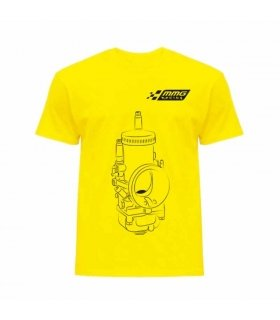 CAMISETA MMGRACING 2TCARB AMARILLA