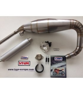 TYGA EXHAUST + VHM INSERT AND ALUMINIUN SILENCER, APRILIA RS125