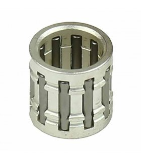 Needle bearing 12x16x15 Silver Plated With Race Type Cage