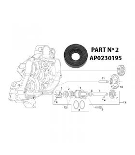 RETEN BOMBA AGUA ROTAX 122 / 123 APRILIA RS125, AF1, FUTURA