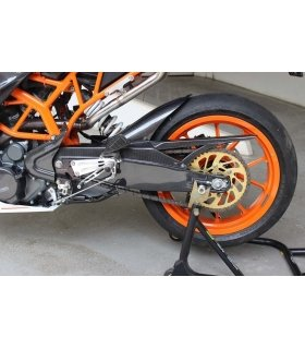 Carbon rear hugger/chain guard/swingarm cover KTM RC125/200/390