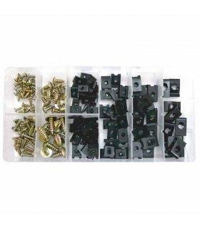 Speed Nut Steel Self Locking set 170-piece