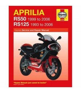 HAYNES REPAIR MANUAL APRILIA RS50 & RS125 (93-06) ENGLISH