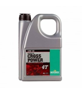 ACEITE MOTOREX CROSS POWER 4T 10W50 4L