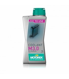 ANTICONGELANTE MOTOREX COOLANT M3.0 Ready to use 1L