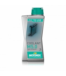 ANTICONGELANTE MOTOREX COOLANT M5.0 Ready to use 1L