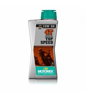 ACEITE MOTOREX TOP SPEED 4T 15W50 1L