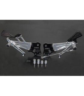 TYGA Racing stepkit adjustable (race), KTM RC125/200/390