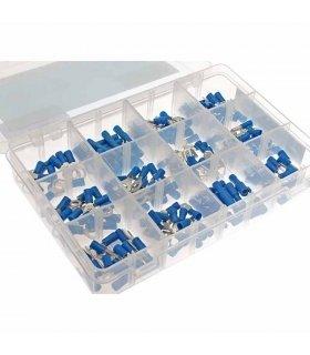 Set de conectores Faston 165 piezas