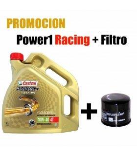 CASTROL POWER1 RACING + OIL FILTER