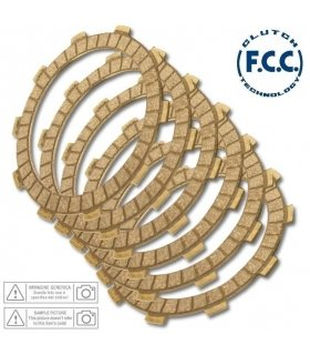 CLUTCH PLATE SET FCC HONDA NSR250